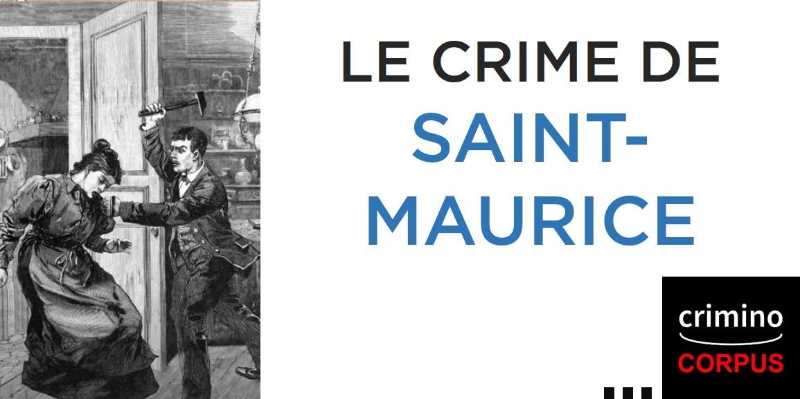 Le crime de saint-maurice expliqué par Pierre Piazza