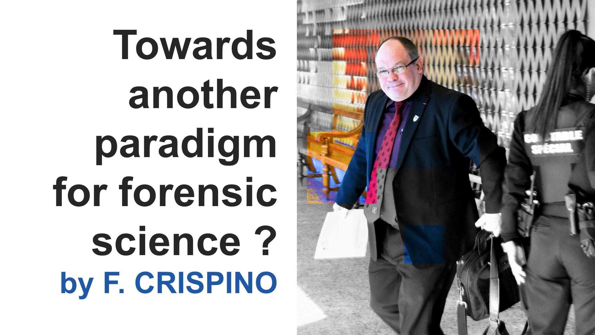 Frank CRISPINO : une nouvelle publication de recherche