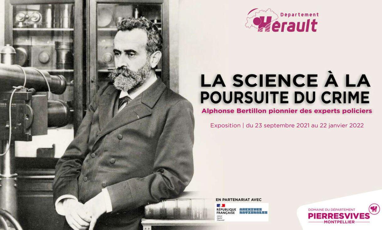[EXPOSITION] La science à la poursuite du crime, Alphonse Bertillon pionnier des experts policiers